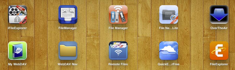 iPad File Managers